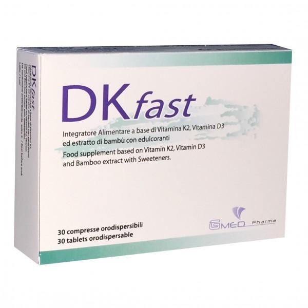 DK FAST 30 Cpr Orodisp.500mg