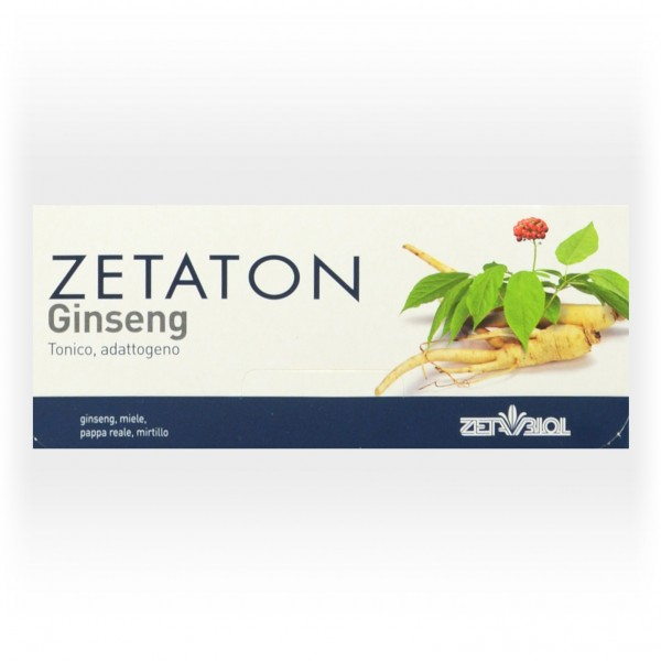 ZETATON GINSENG 12fl.10ml