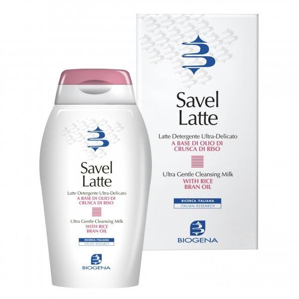 SAVEL Latte Det.Viso 200ml