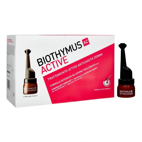 BIOTHYMUS AC ACTIVE 10 Fiale Active Anticaduta Donna
