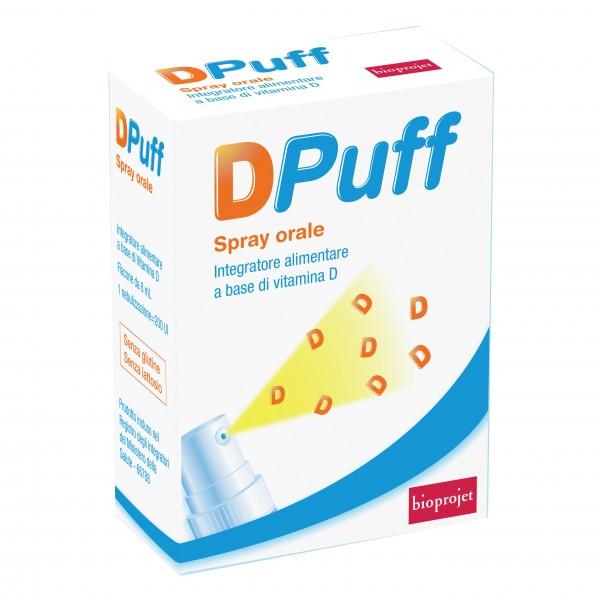 D PUFF Spray Orale 8 ml