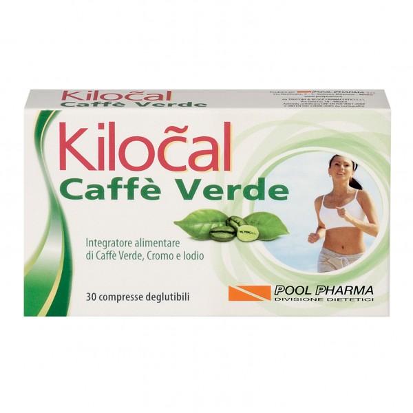 Kilocal Caffe' Verde 30 Compresse