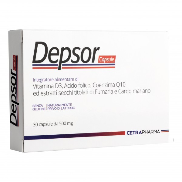 DEPSOR 30 Cps 500mg