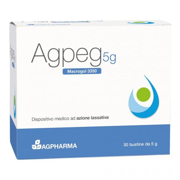 AGPEG Macrogol 3350 30 Bustine 5g