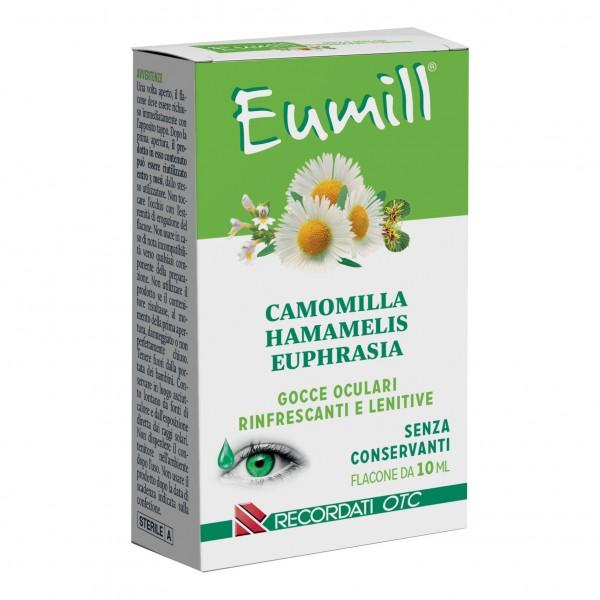Eumill Gocce Oculari A Base Di Camomilla Hamamelis Euprhasia 10ml Farmacia Guacci