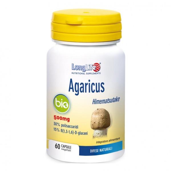 LONGLIFE AGARICUS Bio 60 Cps