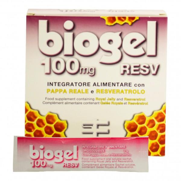 BIOGEL*RESV 100mg 15 Bust.