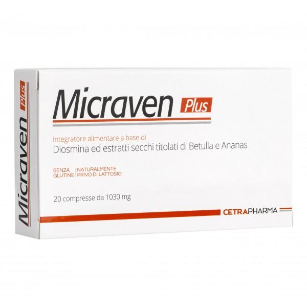 MICRAVEN Plus 20 Cpr 1030mg