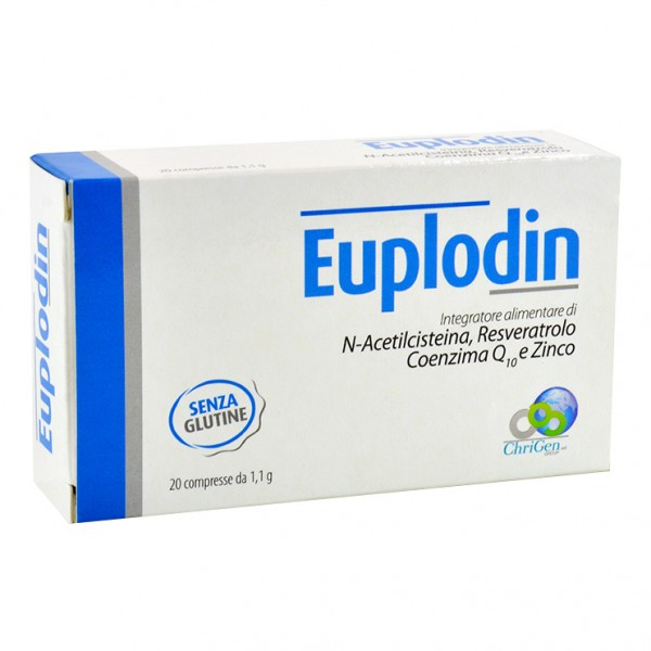 EUPLODIN 20 Cpr 1,1g