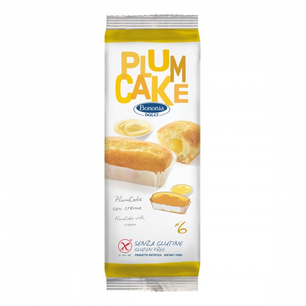 BONONIA Plumcake Crema 6x45g