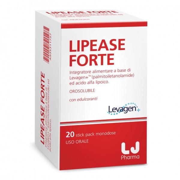 LIPEASE Forte 20 Bustine Orosolubili
