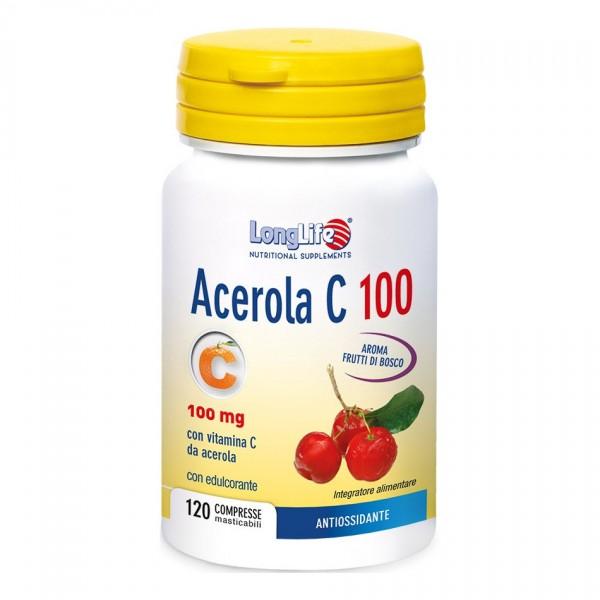 LONGLIFE ACEROLA C100 120Cpr