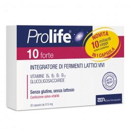 Prolife 10 Forte - Integratore a base di fermenti lattici vivi - 20 capsule