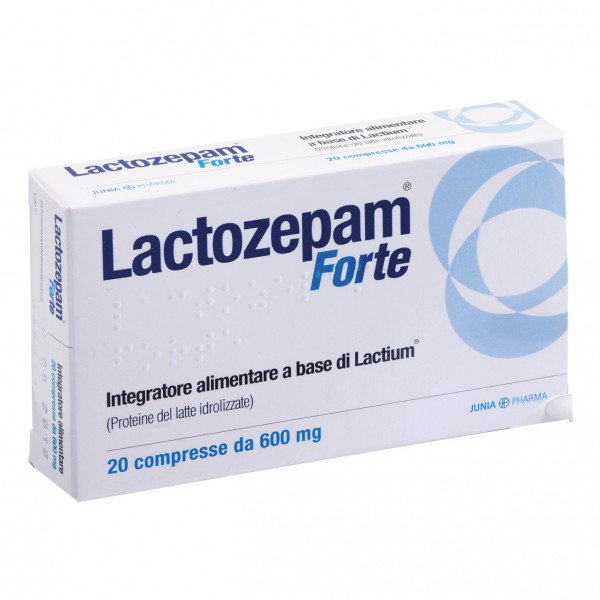 LACTOZEPAM Forte 20 Cpr