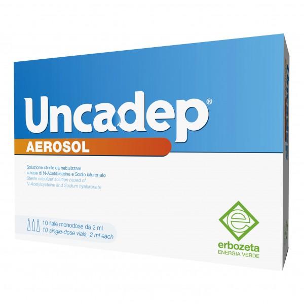 UNCADEP Aerosol 10 flaconcini 2ml