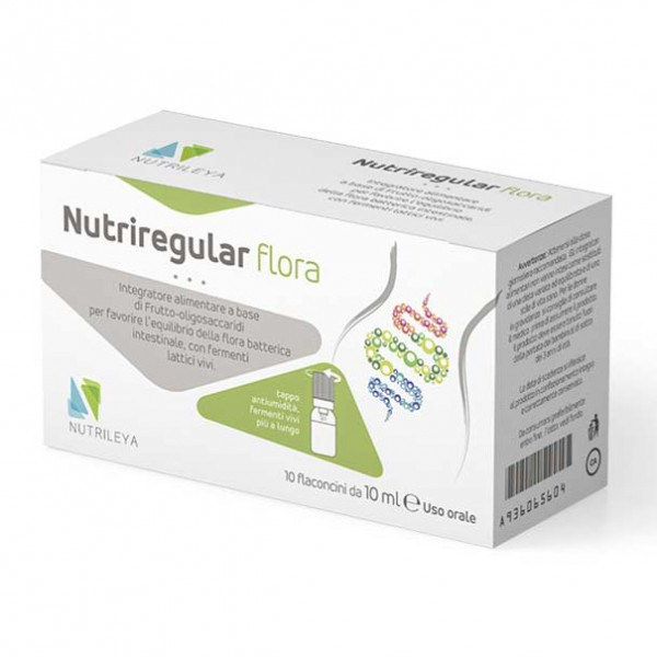 NUTRIREGULAR Flora 10 Flac 8ml