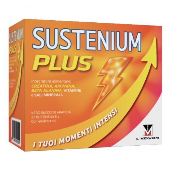 Sustenium Plus Intensive Formula - Integratore alimentare energizzante - 22 bustine