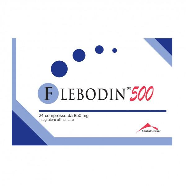 FLEBODIN*500 24 Cpr