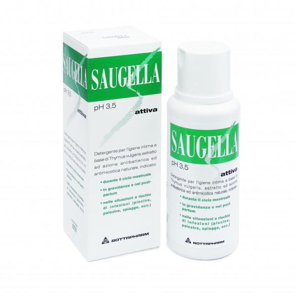 Saugella Attiva Detergente Intimo 500 ml