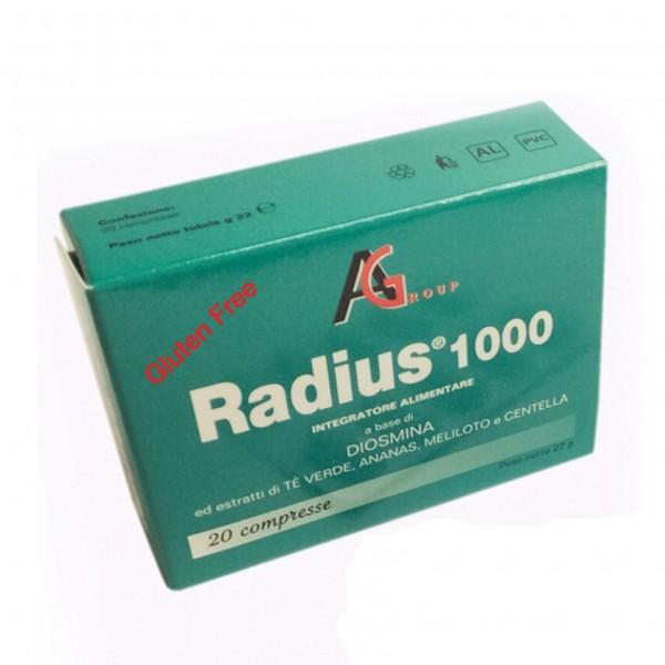 RADIUS*1000 20 Cpr