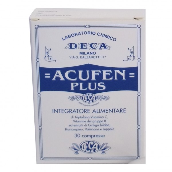 ACUFEN Plus 30 Cpr