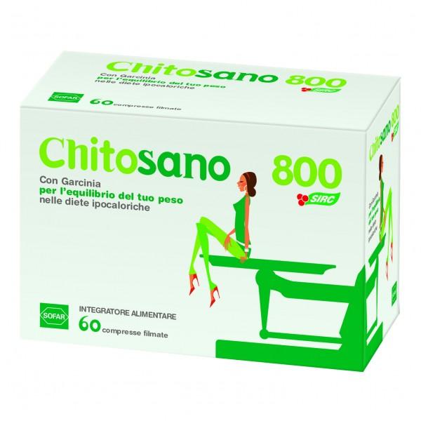CHITOSANO 800 60 Compresse