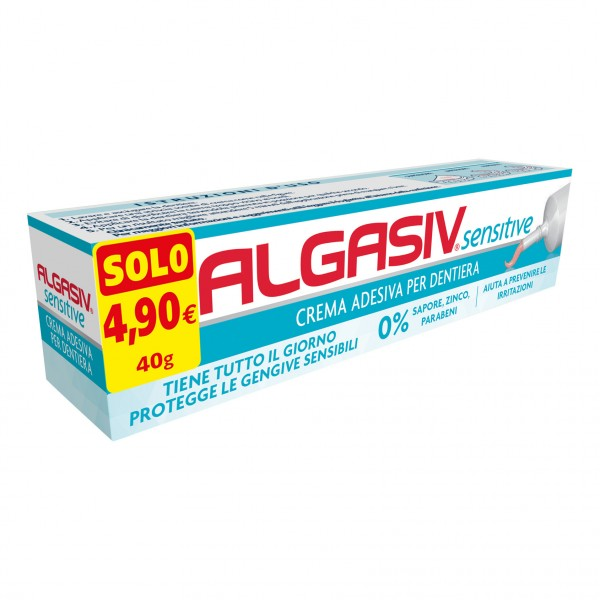 ALGASIV sensitive Crema adesiva per dent...
