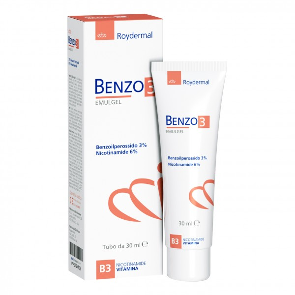 BENZO 3 Emulgel 30ml