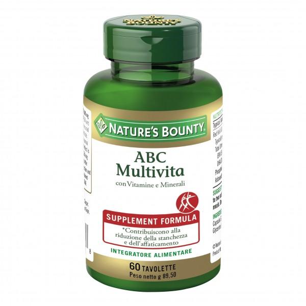 NATURE'S B.ABC Multivita 60Tav