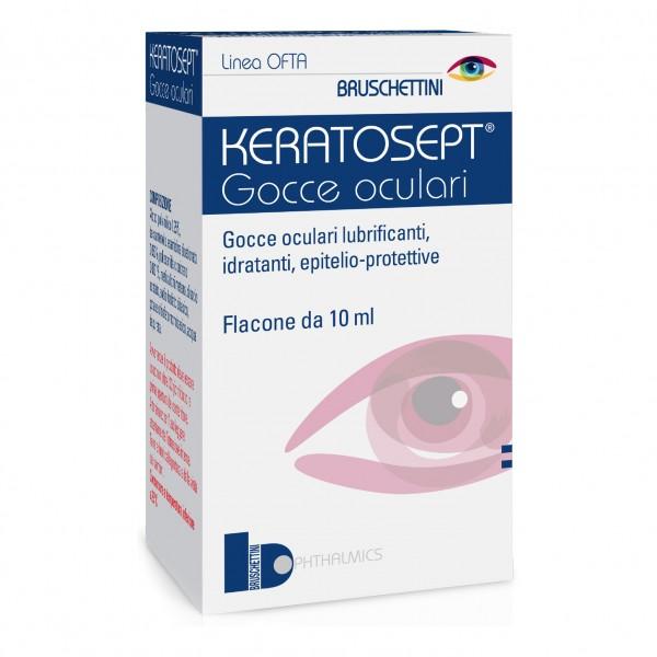 KERATOSEPT Gtt Oculari 10ml