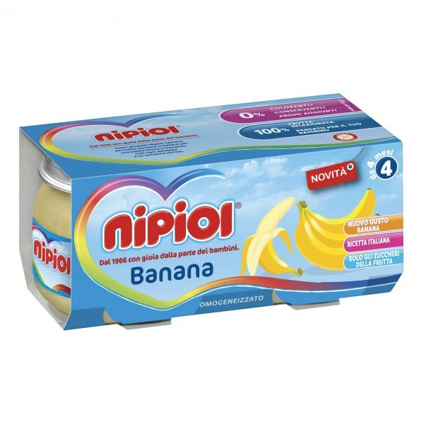 OMO NIPIOL Banana 2x80g
