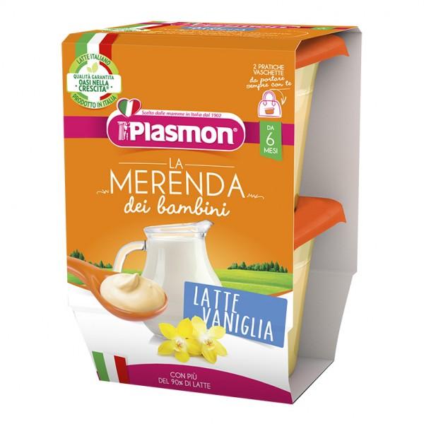 PLASMON Mer.Latte/Van.2x120g*