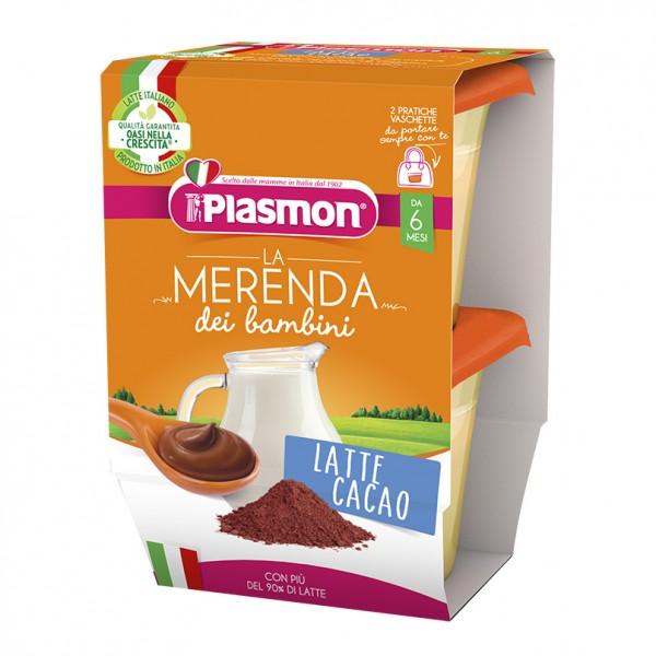 PLASMON Mer.Latte/Cacao*2x120g