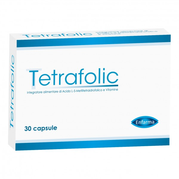 Tetrafolic - Integratore alimentare a ba...