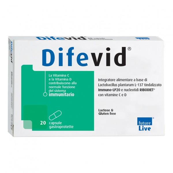 DIFEVID 20 Cps Gastroprot.