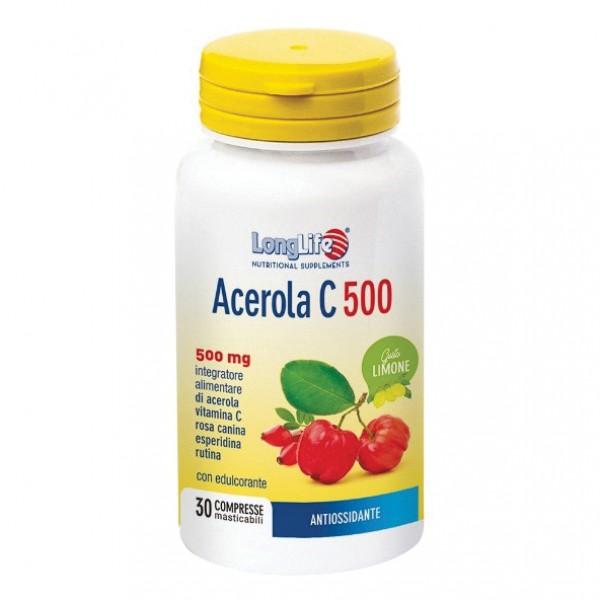LONGLIFE ACEROLA C500 Lim30Tav
