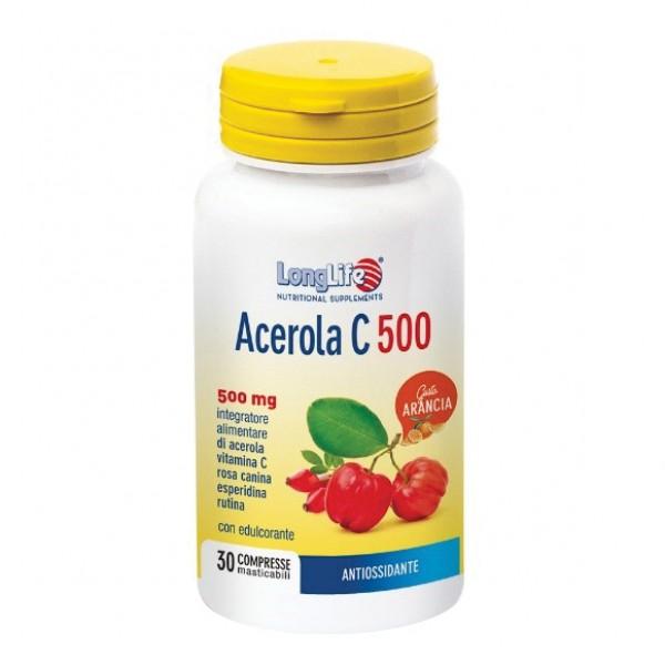 LONGLIFE ACEROLA C500 30 Cpr