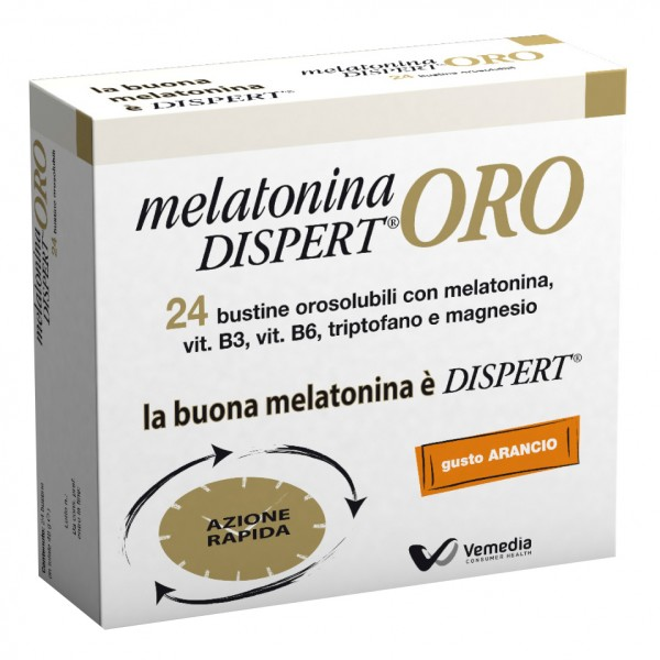 DISPERT MelatoninaOro 24 Bust.
