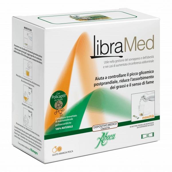 Libramed - Per il trattamento di sovrappeso ed obesità - 40 bustine