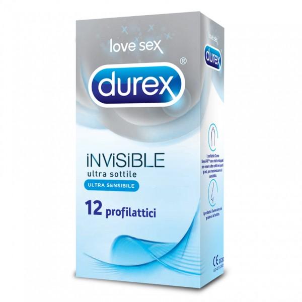 Durex Invisible 12 Profilattici