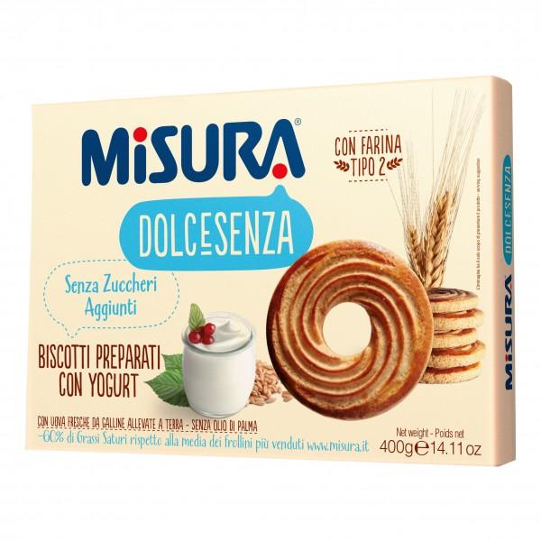 MISURA Bisc.Yogurt S/Z 400g