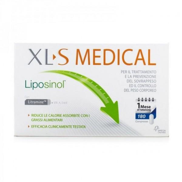 Xls Medical Liposinol 180 compresse 1 me...