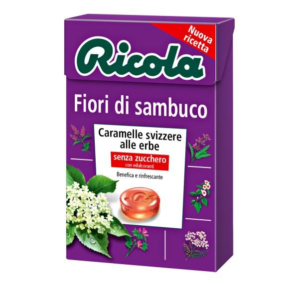 RICOLA Fiori Sambuco S/Z 50g