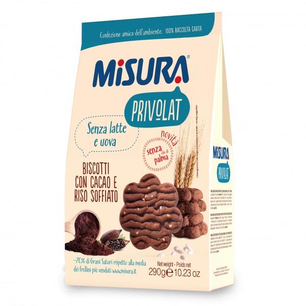 MISURA Bisc.Cacao 290g