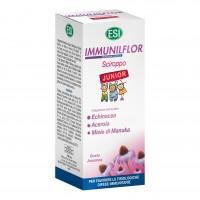 Immuniflor Junior - Integratore per le difese immunitarie dei bambini - Sciroppo - 180 ml