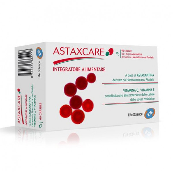 ASTAXCARE 60 Cps