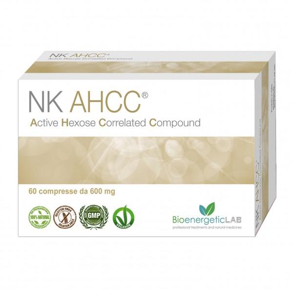 NK Life AHCC 60 Capsule 600 mg