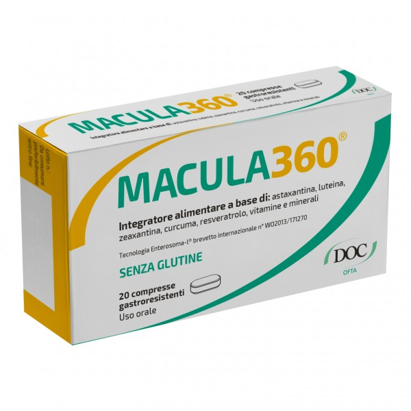 MACULA360 20 Compresse DOC