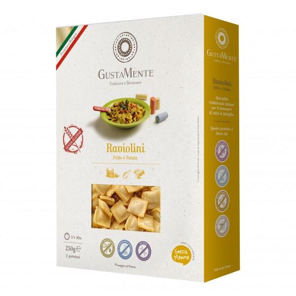 GUSTAMENTE Raviolini Pollo/Pat