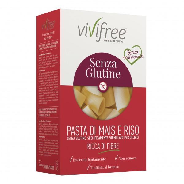 VIVIFREE Pasta Pacchero 250g